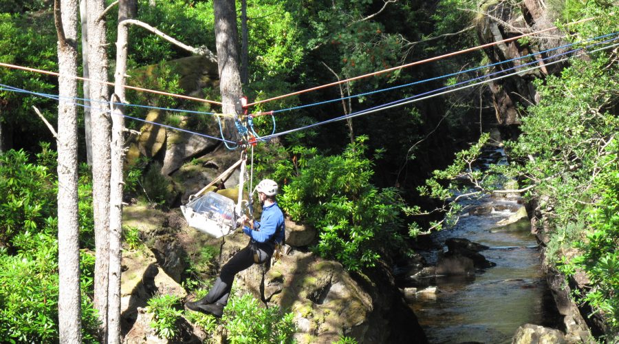 Gorge rescue Torridon MRT